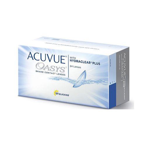 Acuvue Oasys with HYDRACLEAR  (24 линзы) контактные линзы