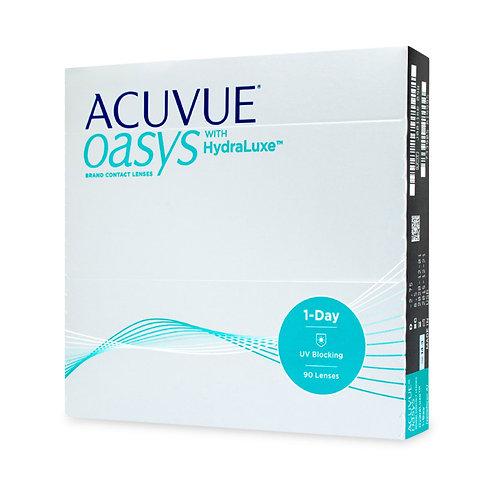 1 Day Acuvue Oasys (90 линз) контактные линзы