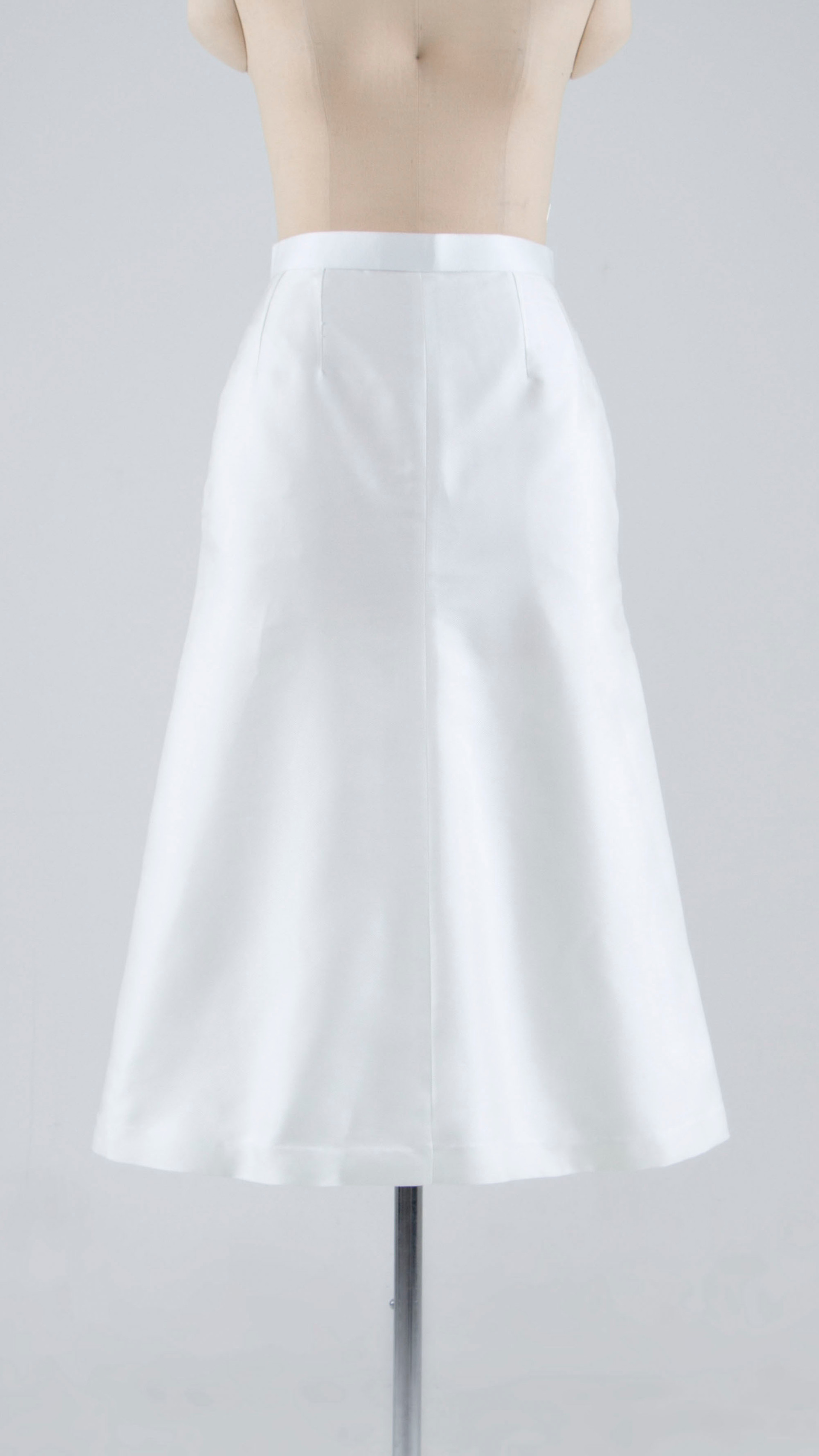 High-quality silk A-line Skirt
