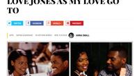 Nia Magazine calls FIRST the new LOVE JONES