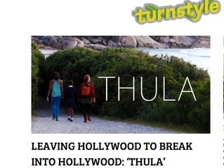 Turnstyle News features South African film written by Biggs