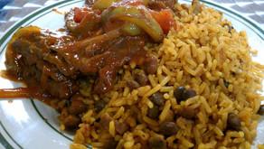 Arroz con Guandu                         (Panamanian Coconut Rice & Peas)