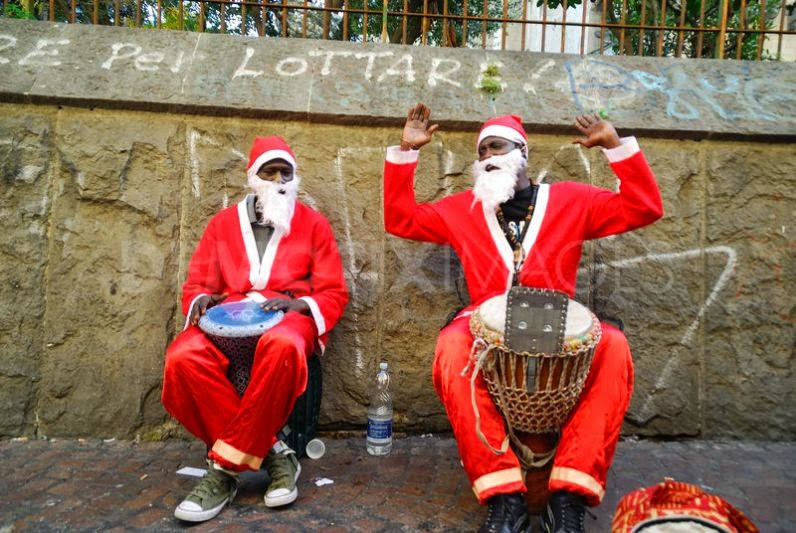 Yoruba Santas