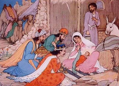 Persian Nativity by