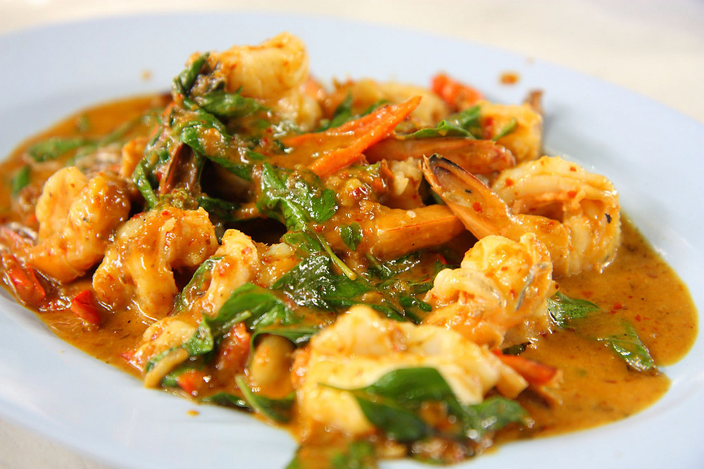 Coconut Curry Shrimp Photo credit: Lummmy on Flicr