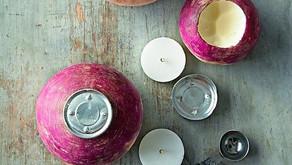 Turnip Candle Holder (Ireland)