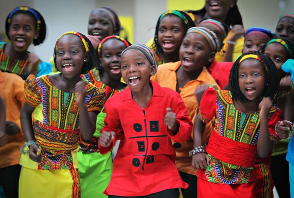 Watoto Ugandan Children's choir