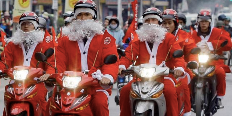 Christmas in Danang, Vietnam 2015