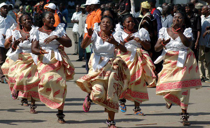 Celebrating Christmas in Enugu, Nigeria