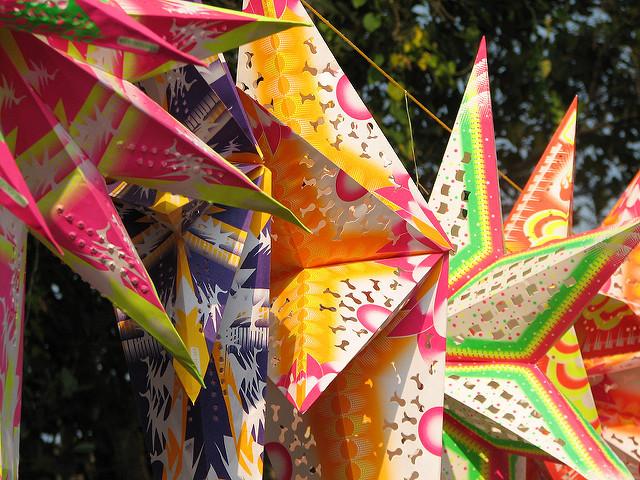 Paper Star Lanterns  Photo Credit: McCay Savage