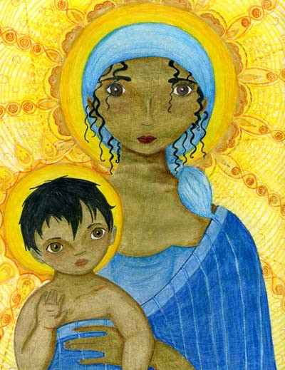 Virgin and Child, Artist Unknown