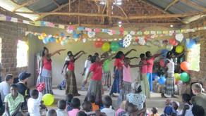 Christmas Caroling in Uganda