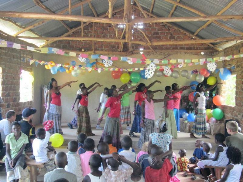 Christmas celebration in Uganda