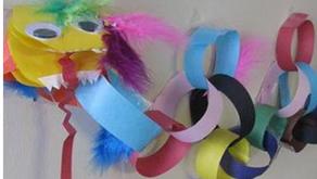 Make Paper Chain Decorations
