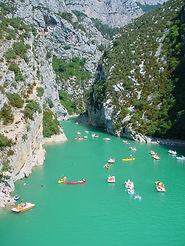 Verdon into Lac du SteCroix