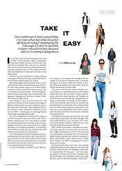 Take It Easy // ELLE November 2016
