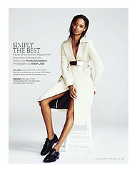 Malaika Firth // Telegraph Magazine