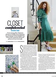 Closet Confidential: Natasha Zinko // ELLE July 2016