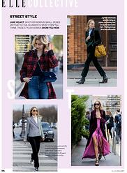 Street Style: Velvet // ELLE January 2017