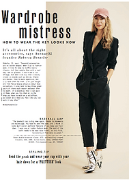 Wardrobe Mistress: Roberta Benteler// Style March 12th 2017