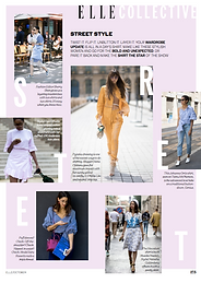 Street Style: Shirting // ELLE October 2016