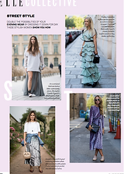 Street Style: Eveningwear As Daywear // ELLE November 2016