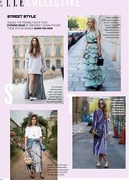 Street Style: Eveningwear As Daywear // ELLE November 2016