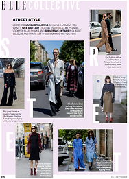 Street Style: Oversized // ELLE September 2016