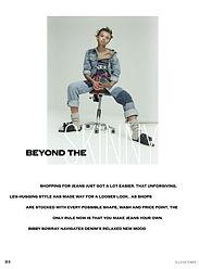 Beyond The Skinny // ELLE Oct 2016