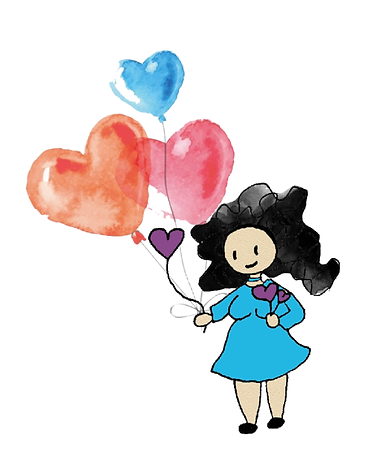 draw of melissa and hearts