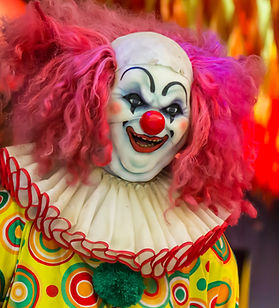 Haunted House attraction clown wilmington NC