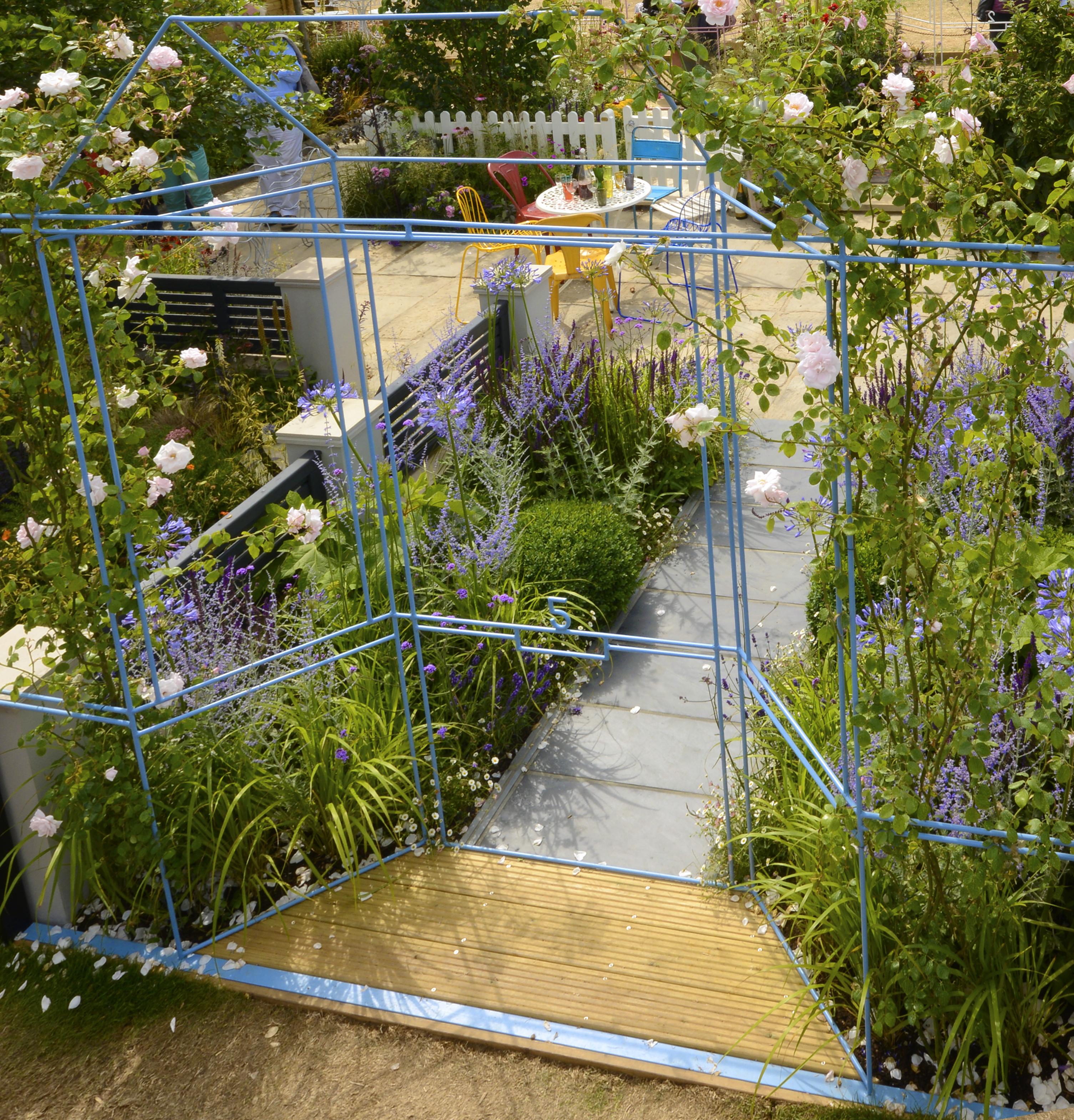 RHS Hampton Court show garden