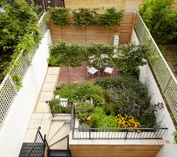 Contemporary London garden