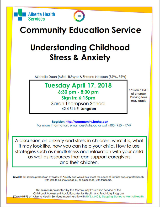 Understanding Childhood Stress and Anxiety : Free Session