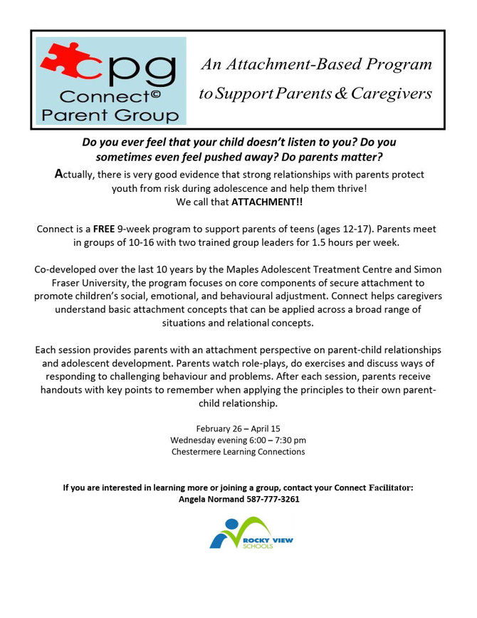 Connect Parent Group