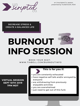 Burnout Info Session