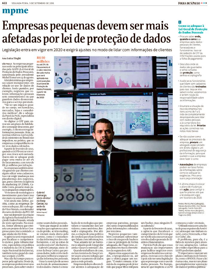 Lei de proteção de dados LGPD