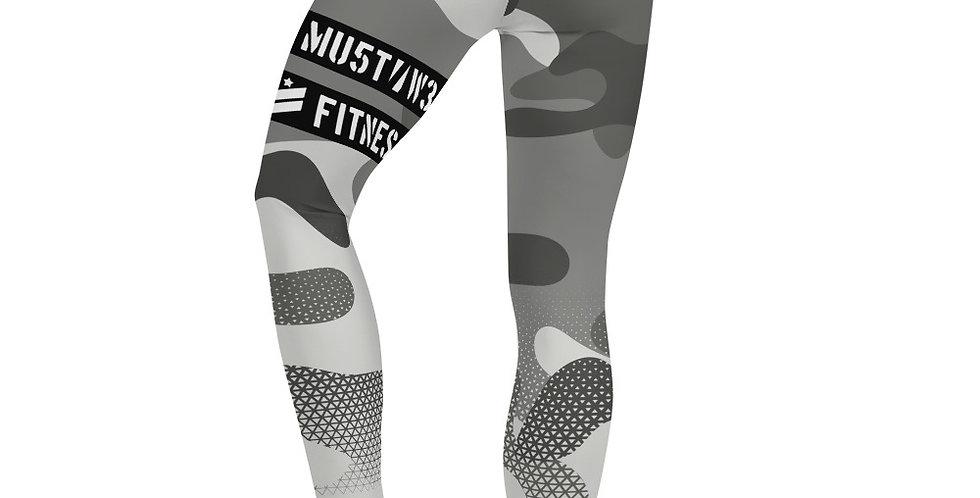 Prime Fitness - Gray Camo Leggings