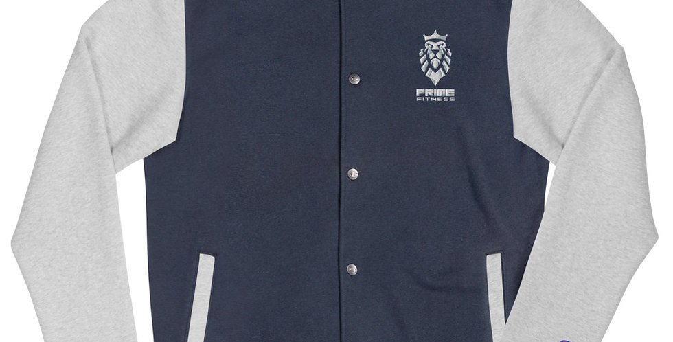 Prime Fitness - Embroidered Champion Bomber Jacket