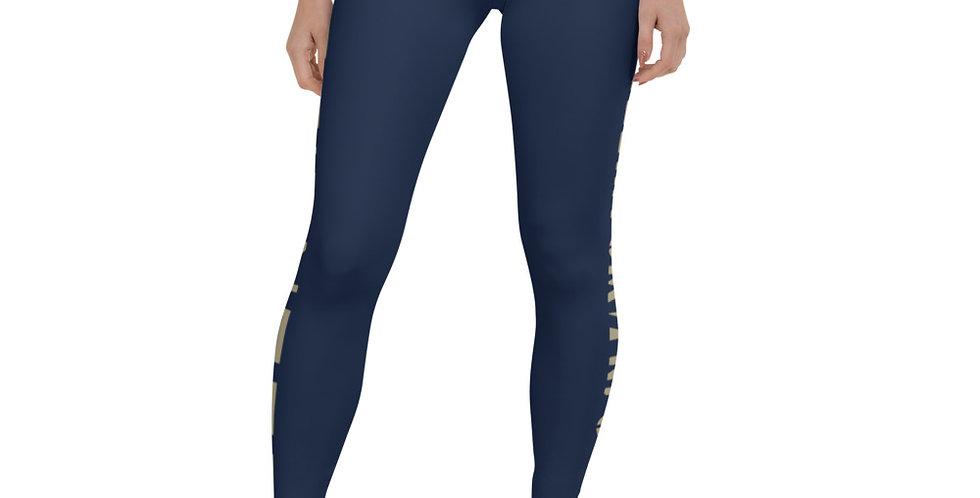 Prime Fitness - Camo Logo Leggings (Navy)
