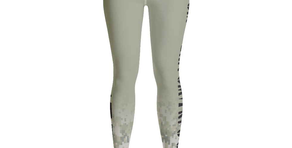 Prime Fitness - Digital Camo Yoga Leggings
