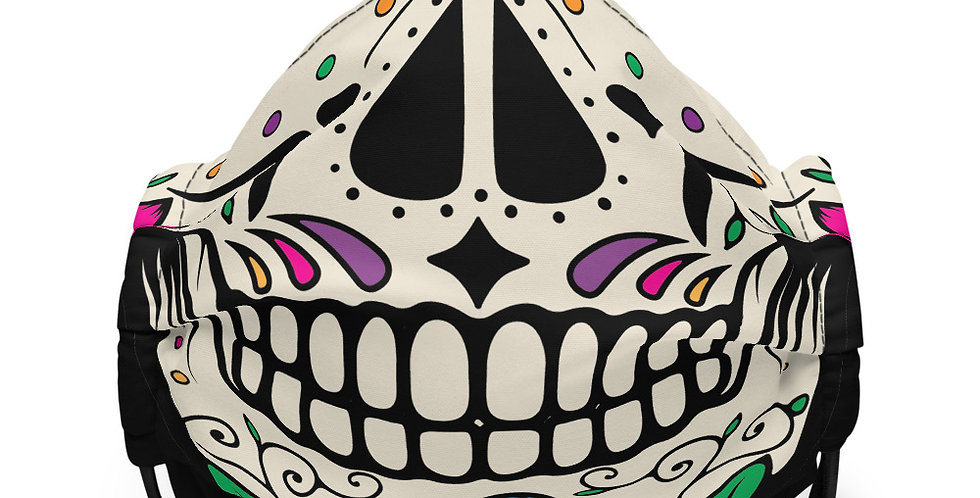 Sugar Skull Face Covering