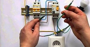 Монтаж и установка автоматов, узо и диф. Сборка электрощита