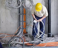Прокладка кабеля в квартире, доме, офисе. Электромонтаж