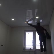 Монтаж точечного светильника