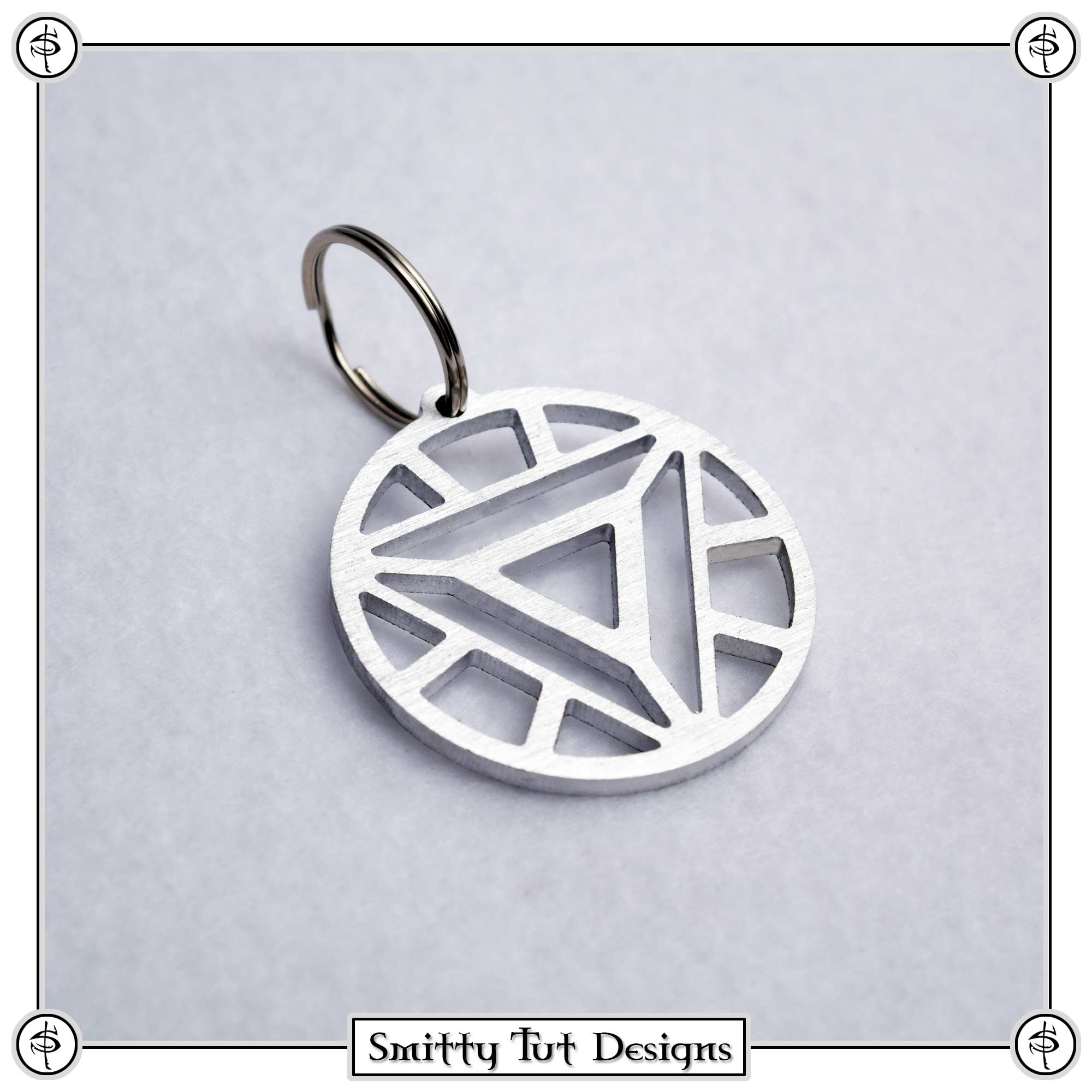 Arc-Reactor-Keychain