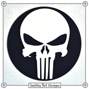 Punisher Magnetic Metal Wall Plaque!