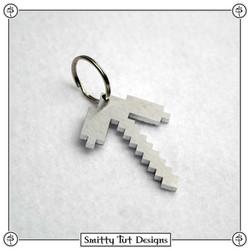 Minecraft-Axe-Keychain