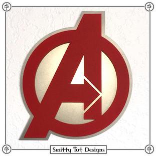 Avengers Metal Wall Plaque!