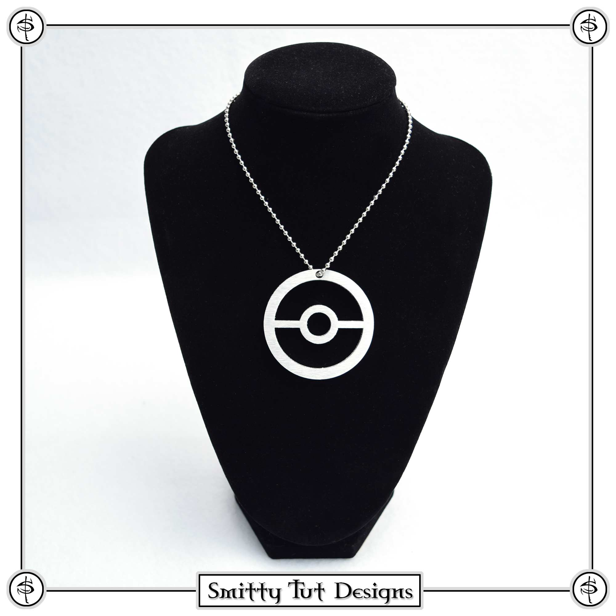 Pokeball-KNecklace